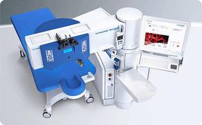 Ab Jänner 2014 bei Excimer im Einsatz : 1050RS Lasergerät